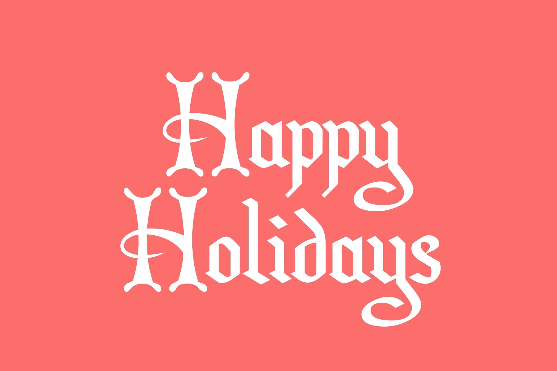 Christmas Card Font (Free) – Christmas HQ